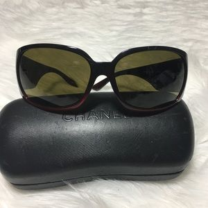Chanel Rhinestone Sunglasses